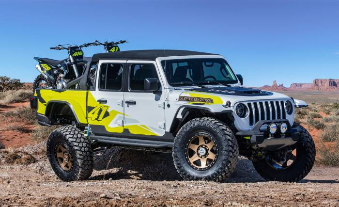 Jeep Gladiator Flatbill concept truck