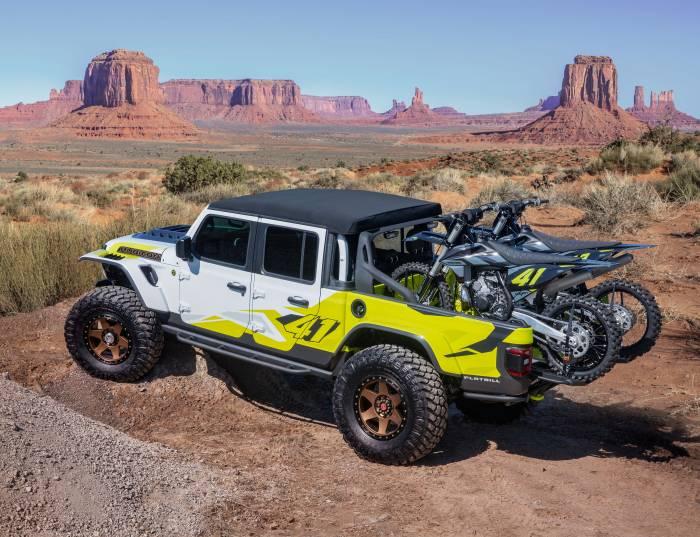 Jeep Gladiator Flatbill concept