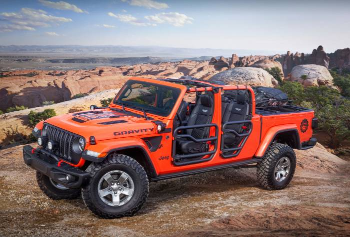 Jeep Gravity Gladiator concept pickup