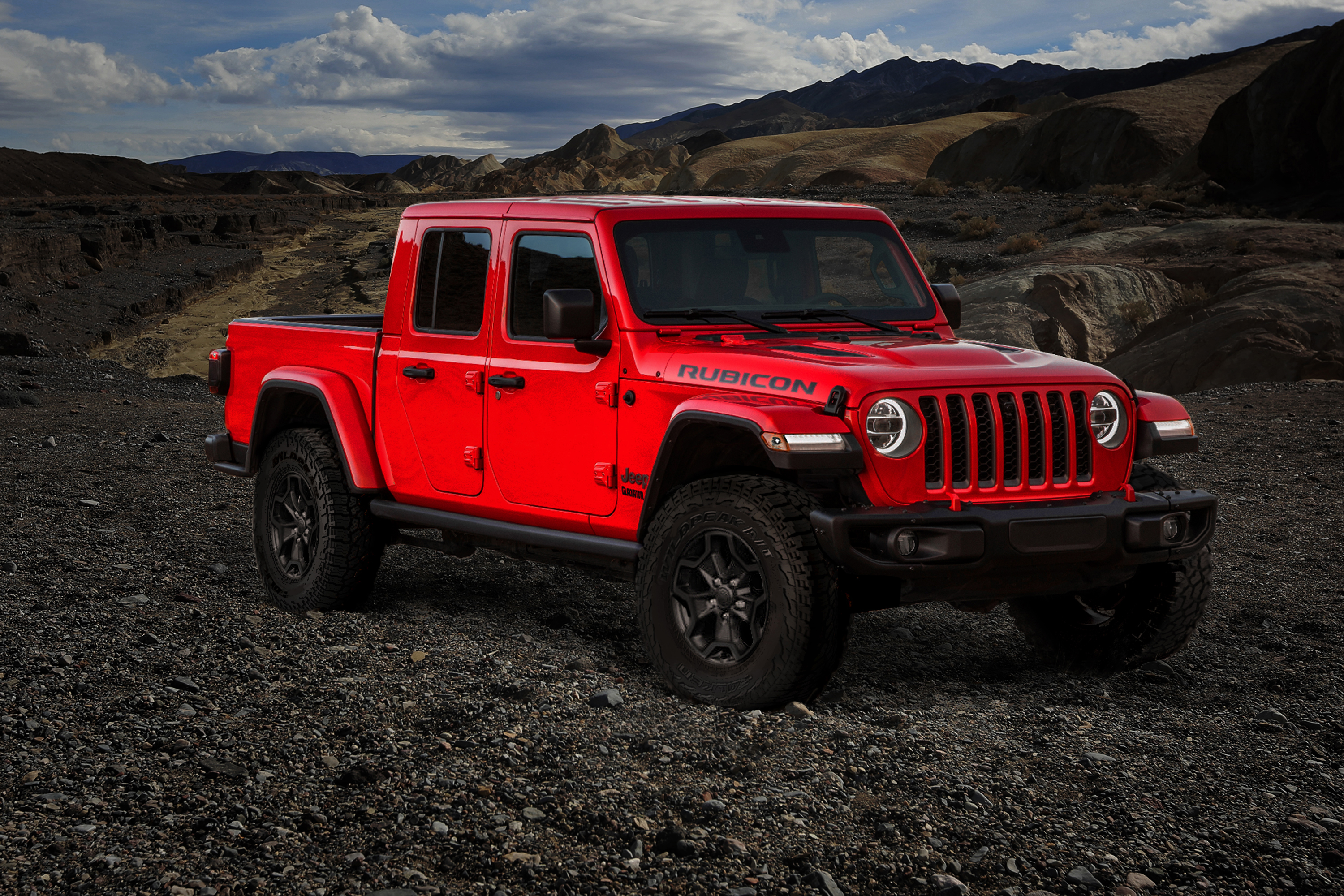 2020 Jeep Gladiator Rubicon Red