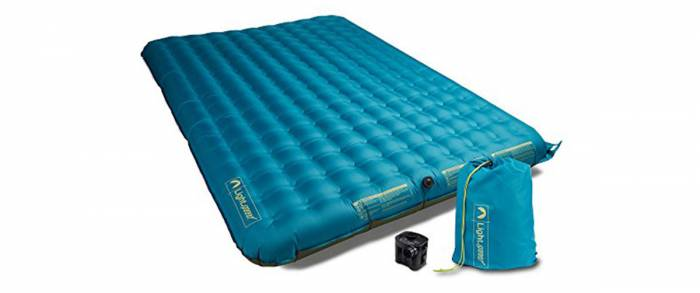 LIghtspeed Outdoors Queen Air Mattress for Camping