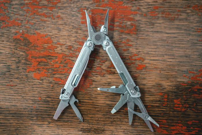 Leatherman Free multi-tool fanned open