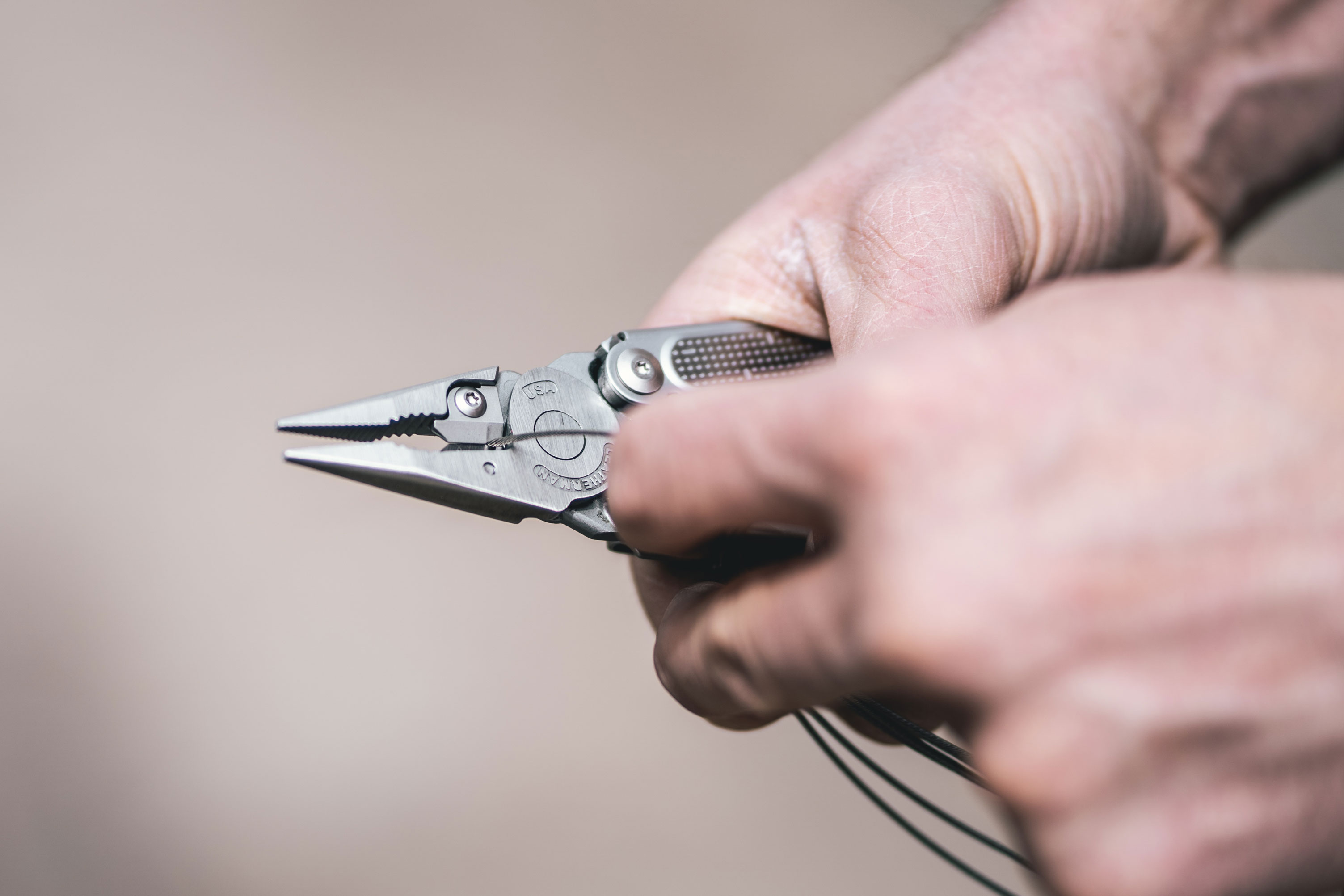 Leatherman Free wire cutter