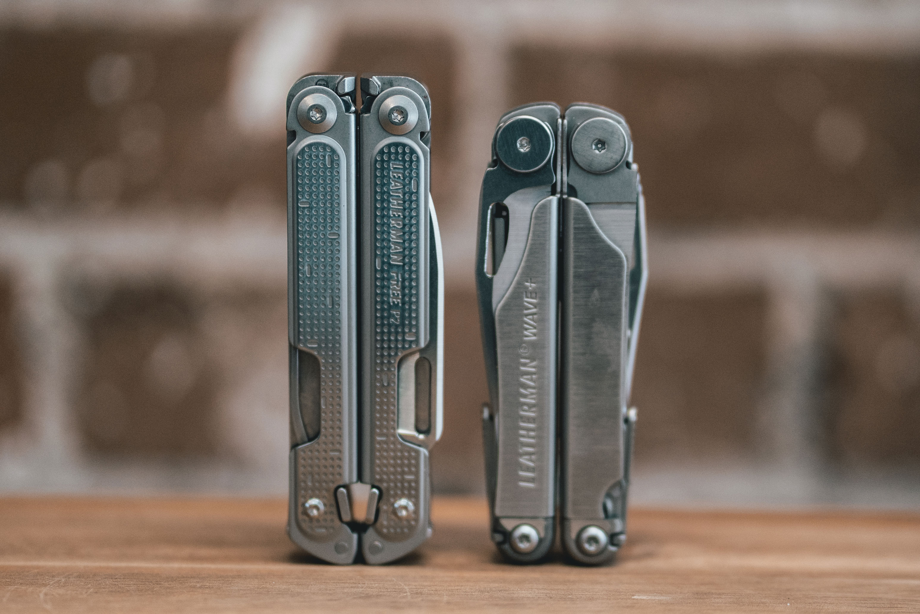 Leatherman Free Wave size comparison