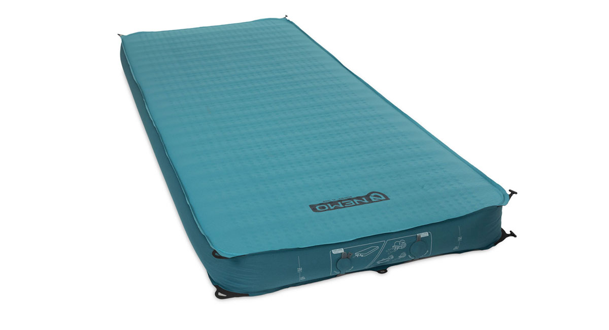 Overall Camping Pad Runner-Up: NEMO Roamer Self-Inflating Pad