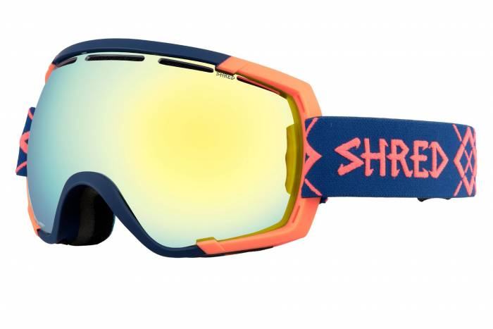 Stupify Bigshow goggles in Navy Rust