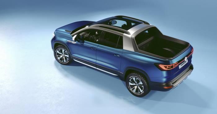 Volkswagen Tarok pickup truck concept