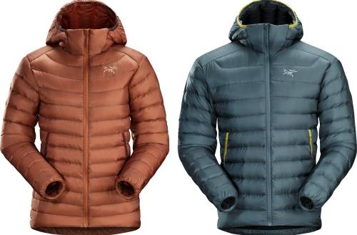 arcteryx cerium down jacket