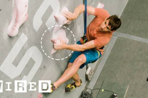 wired speed climbing