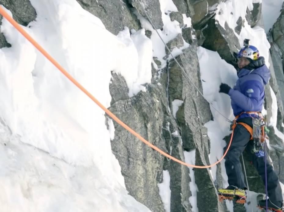 david lama highlight climbing reel