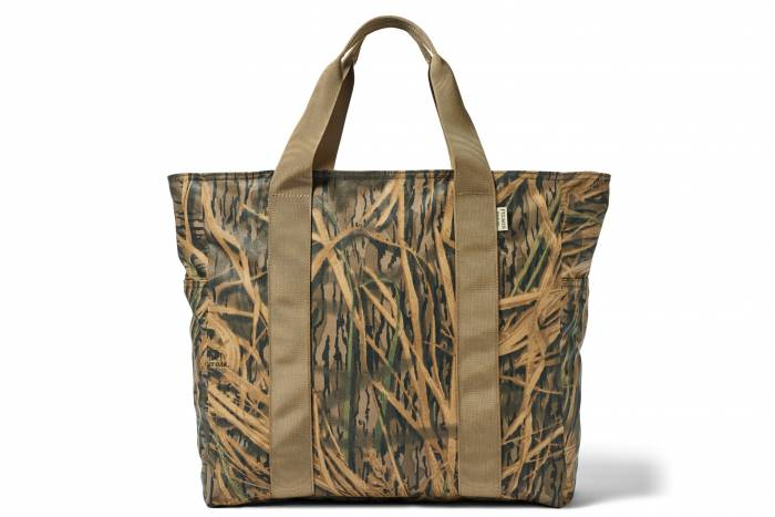 Filson x Mossy Oak Camo Tin Cloth Tote Bag