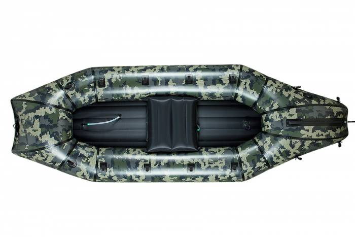 The Forager packraft, by Alpacka Rafts and Backcountry Hunters & Anglers