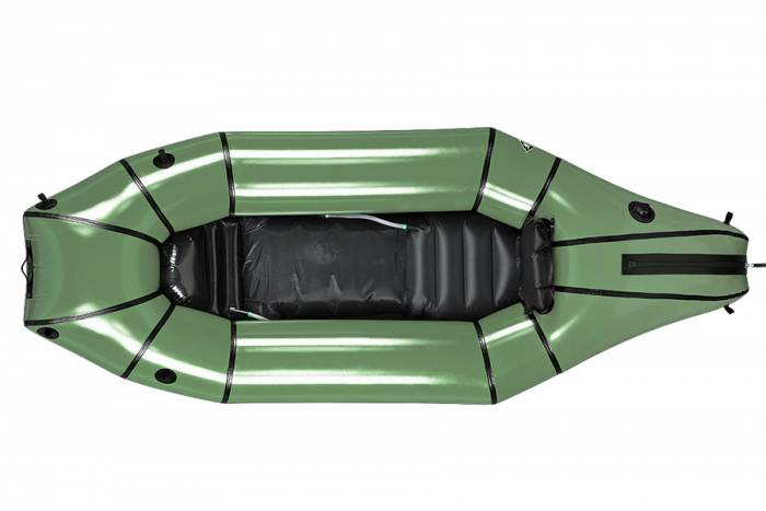 The Mule packraft, by Alpacka Rafts and Backcountry Hunters & Anglers