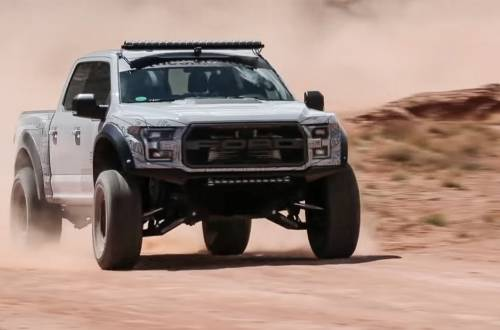 ken block ford raptor moab