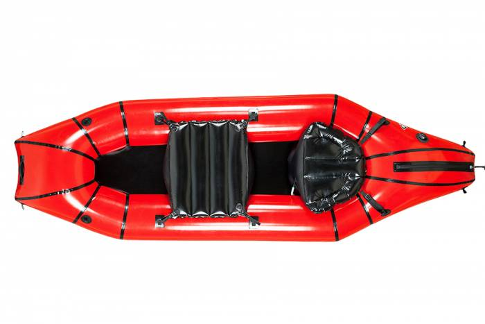 The Oryx packraft, by Alpacka Rafts and Backcountry Hunters & Anglers