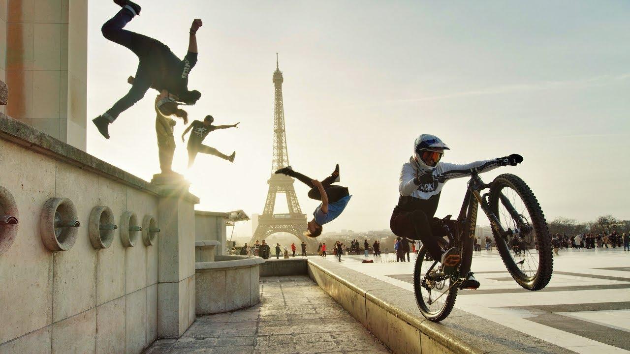Mountain Biking Meets Parkour In Epic Urban Freeride Video
