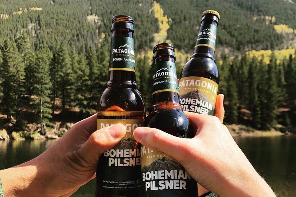 Patagonia Brewing Co beer bottles