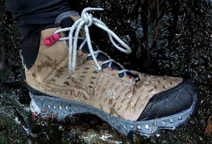La Sportiva Pyramid hiking boot pores
