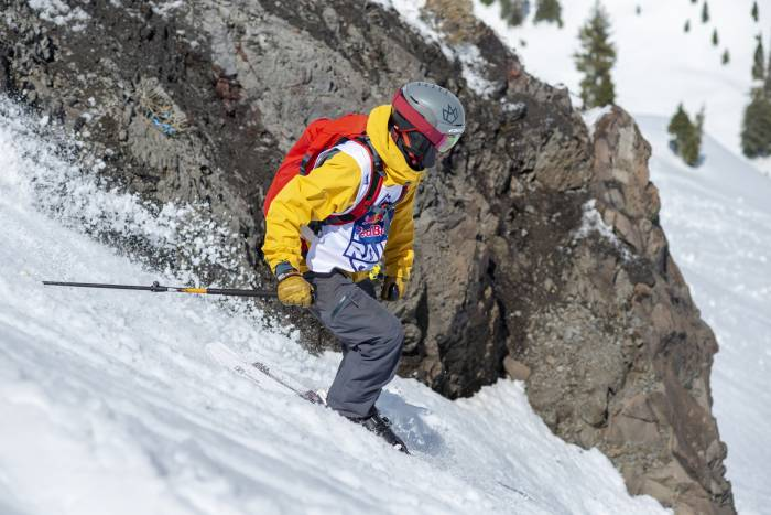 Red Bull Raid skiing splitboarding competition