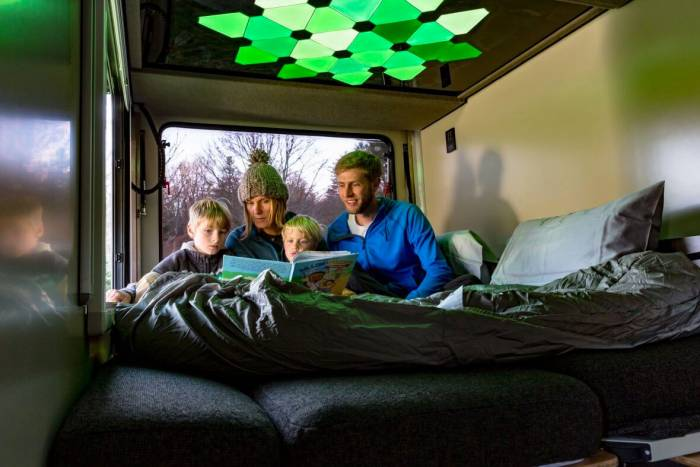 SylvanSport VAST camper bed