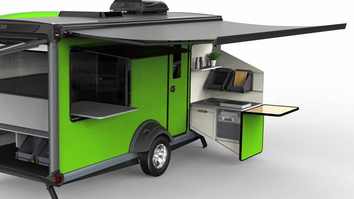SylvanSport VAST camper kitchen