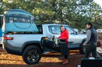 Rivian Electric Truck Gets an Overlanding Camper Makeover