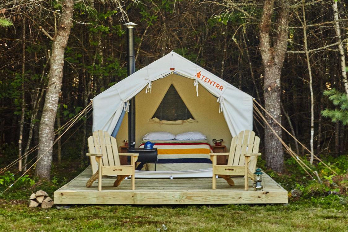 Tentrr Glampsite canvas tent