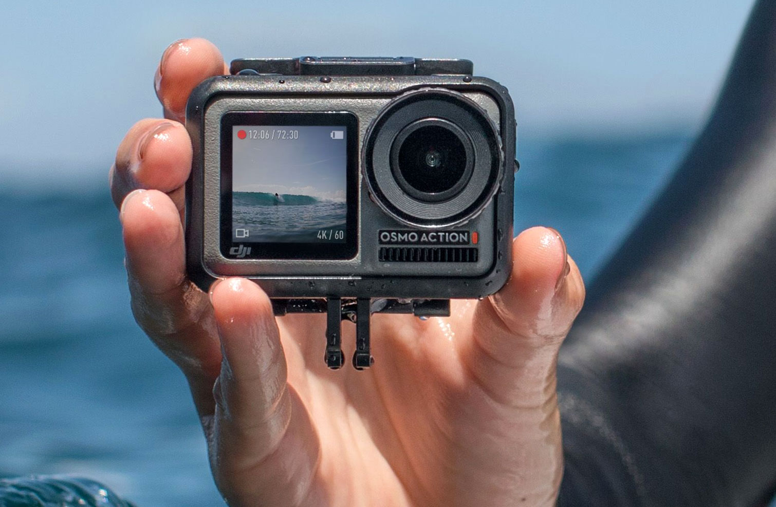 DJI unveils its first action camera to take on GoPro