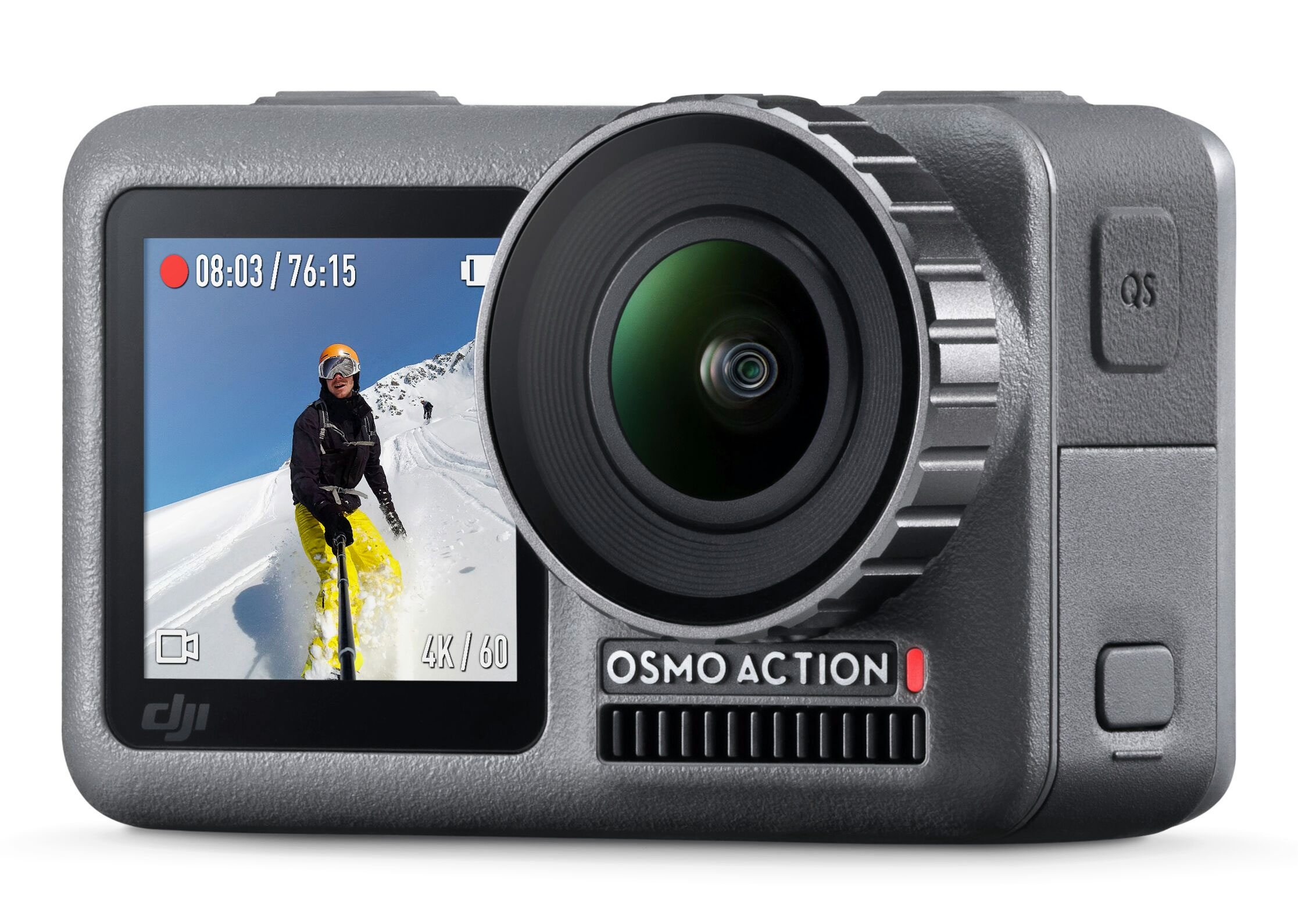 DJI takes on GoPro with new Osmo Action camera