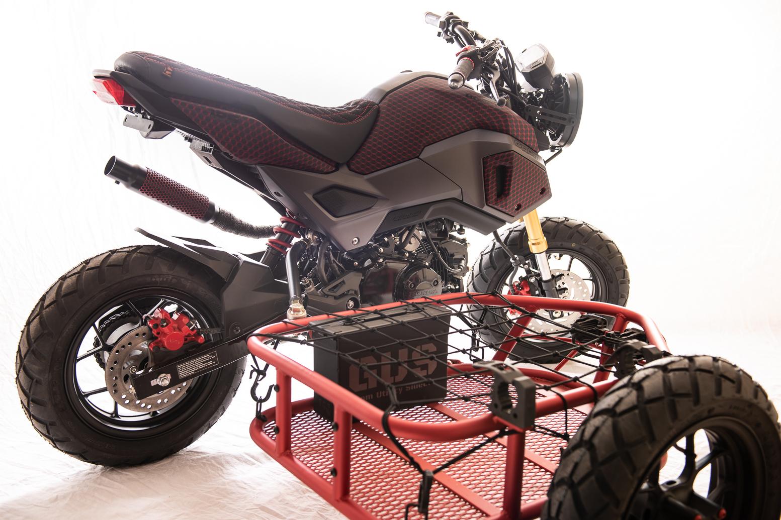 Grom Utility Sidecar moto