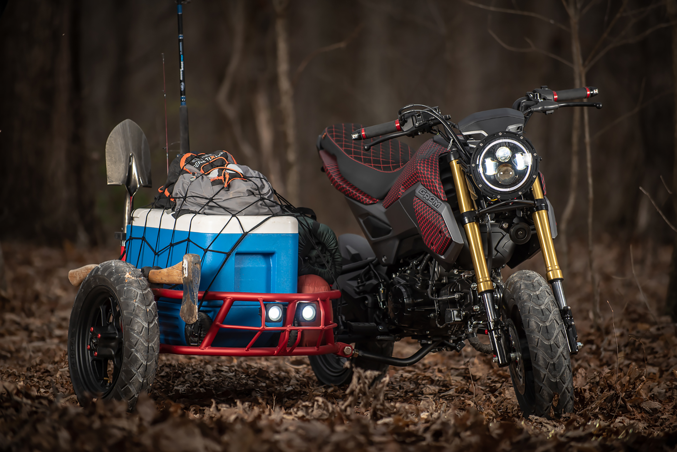 Tiny 'Grom Utility Sidecar' Looks Fun as Hell | GearJunkie