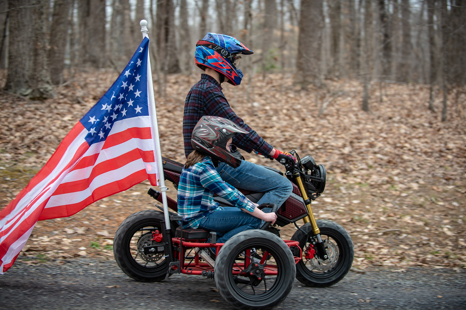 Grom Utility Sidecar motorcycle