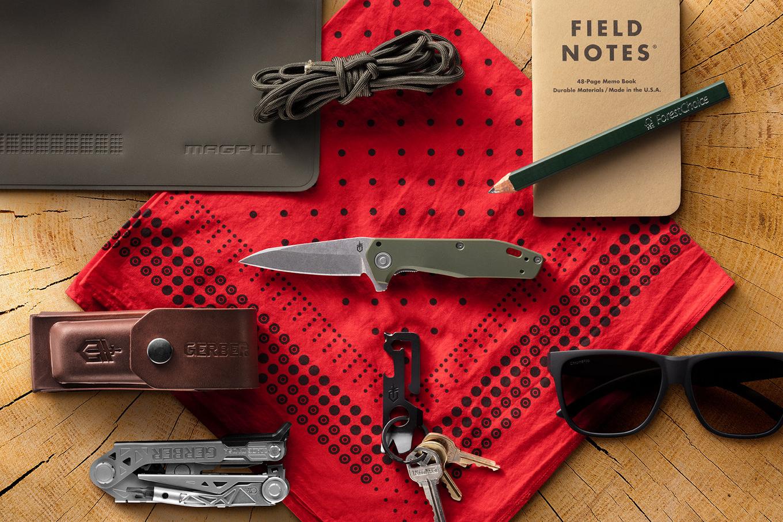 Gerber Fastball knife pocket dump