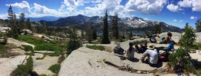 Hiking in the Desolation Wilderness - photo by Mallory Paige