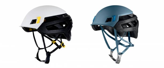 Mammut Wallrider Climbing Helmets, with and without MIPS