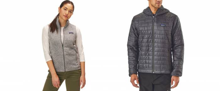Patagonia Better Sweater Fleece Vest and Micro Puff Jacket