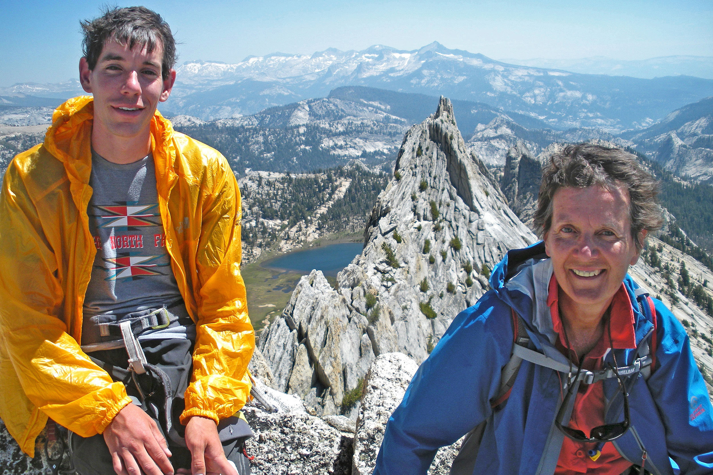 Alex Honnold's mom Dierdre Wolownick