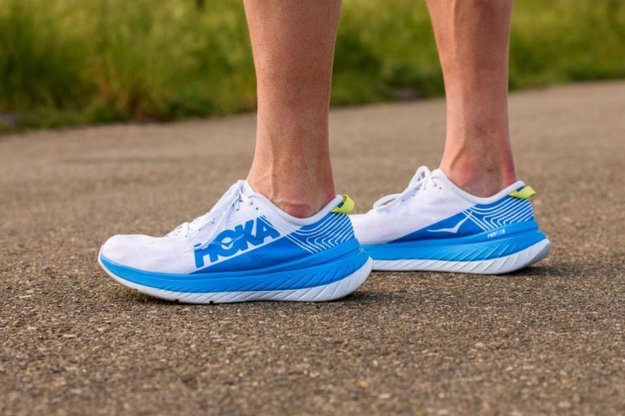 HOKA ONE ONE Carbon X racing shoe