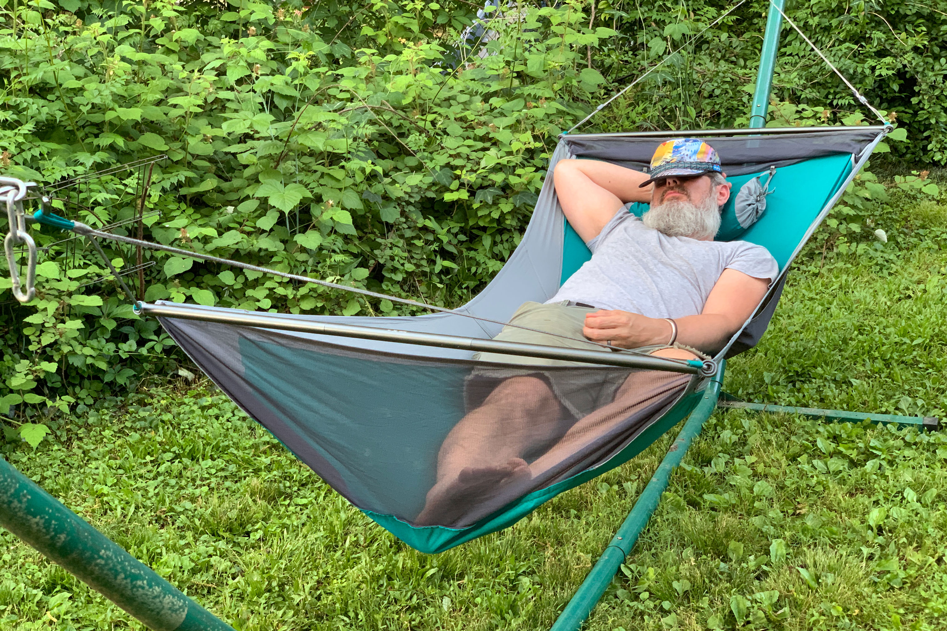 Eno Skyloft Hammock Review No More Taco With Lay Flat Design Gearjunkie