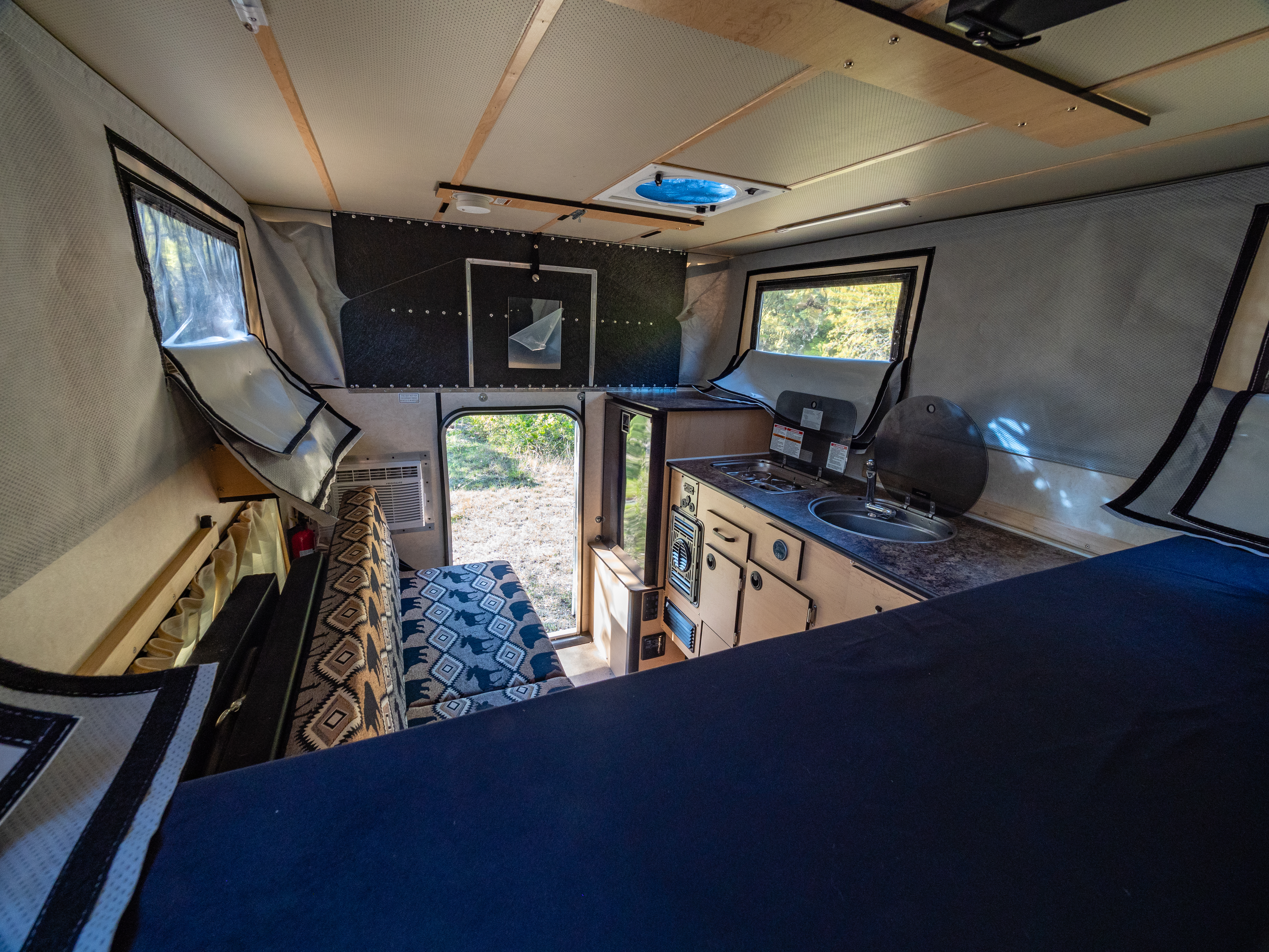Four Wheel' Pop-Up Camper Review: RV Comfort, 4WD Access