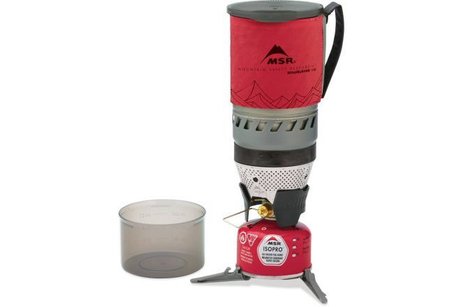 MSR WindBurner backpacking stove system