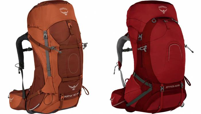 Osprey Aether & Atmos AG Backpacks
