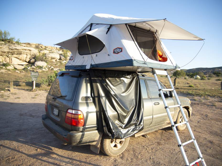 Review: tepui low pro roof top tent test