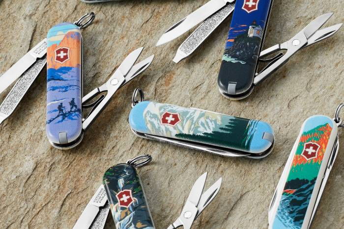 Victorinox Swiss Army national park knives