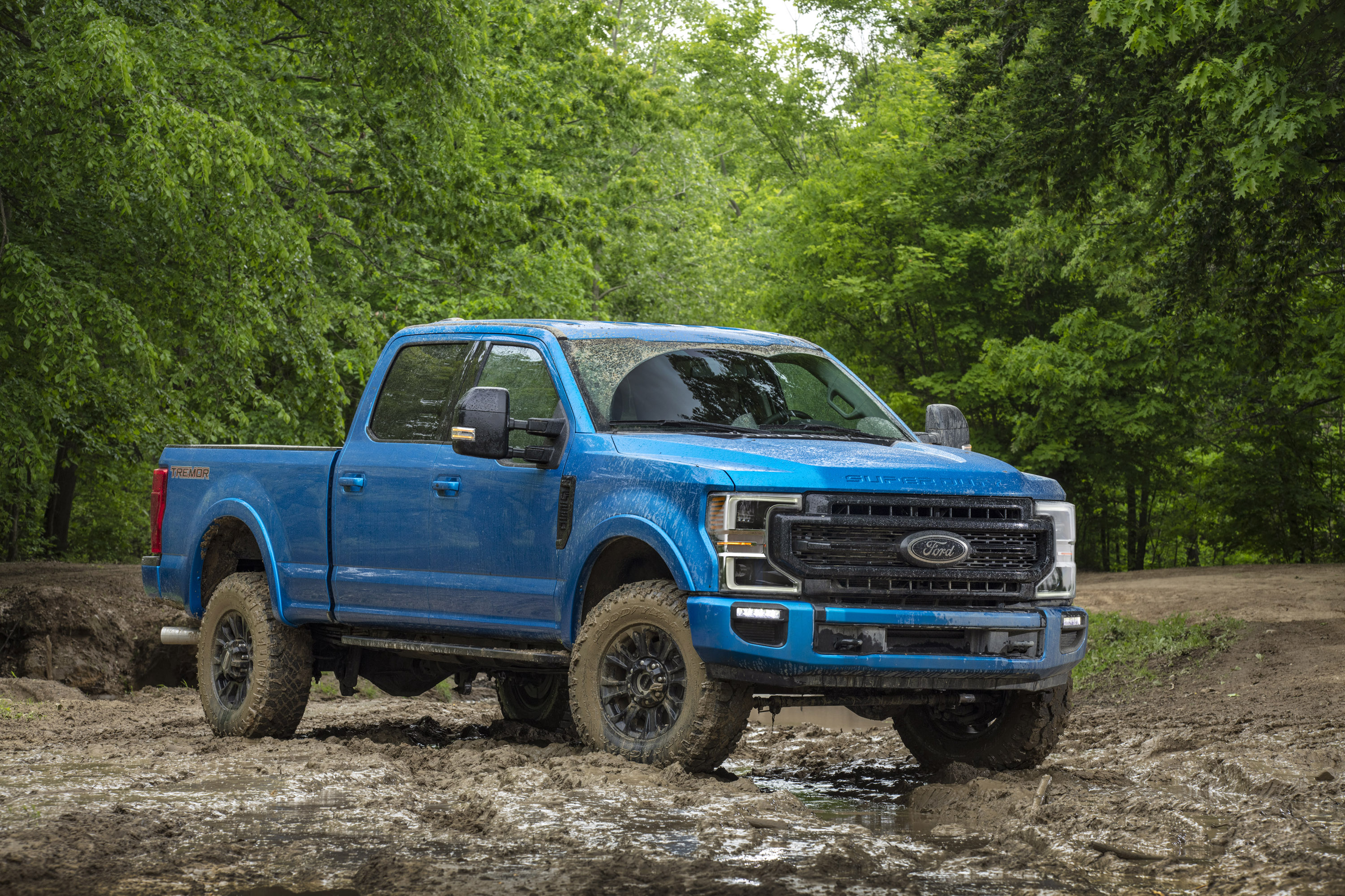 Off Road Supremacy Meet The Ford Super Duty Tremor Gearjunkie