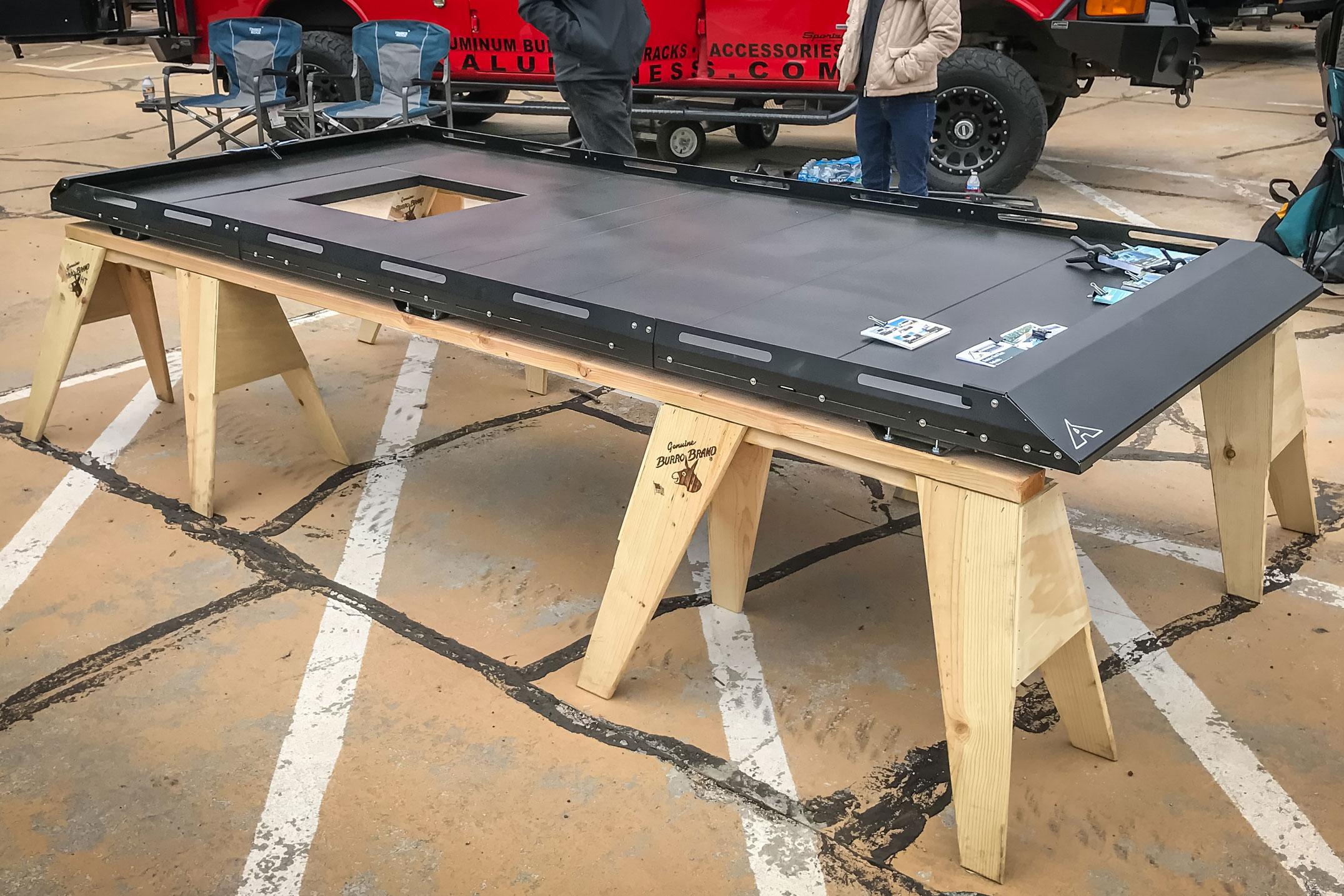 Aluminess Modular Roof Rack