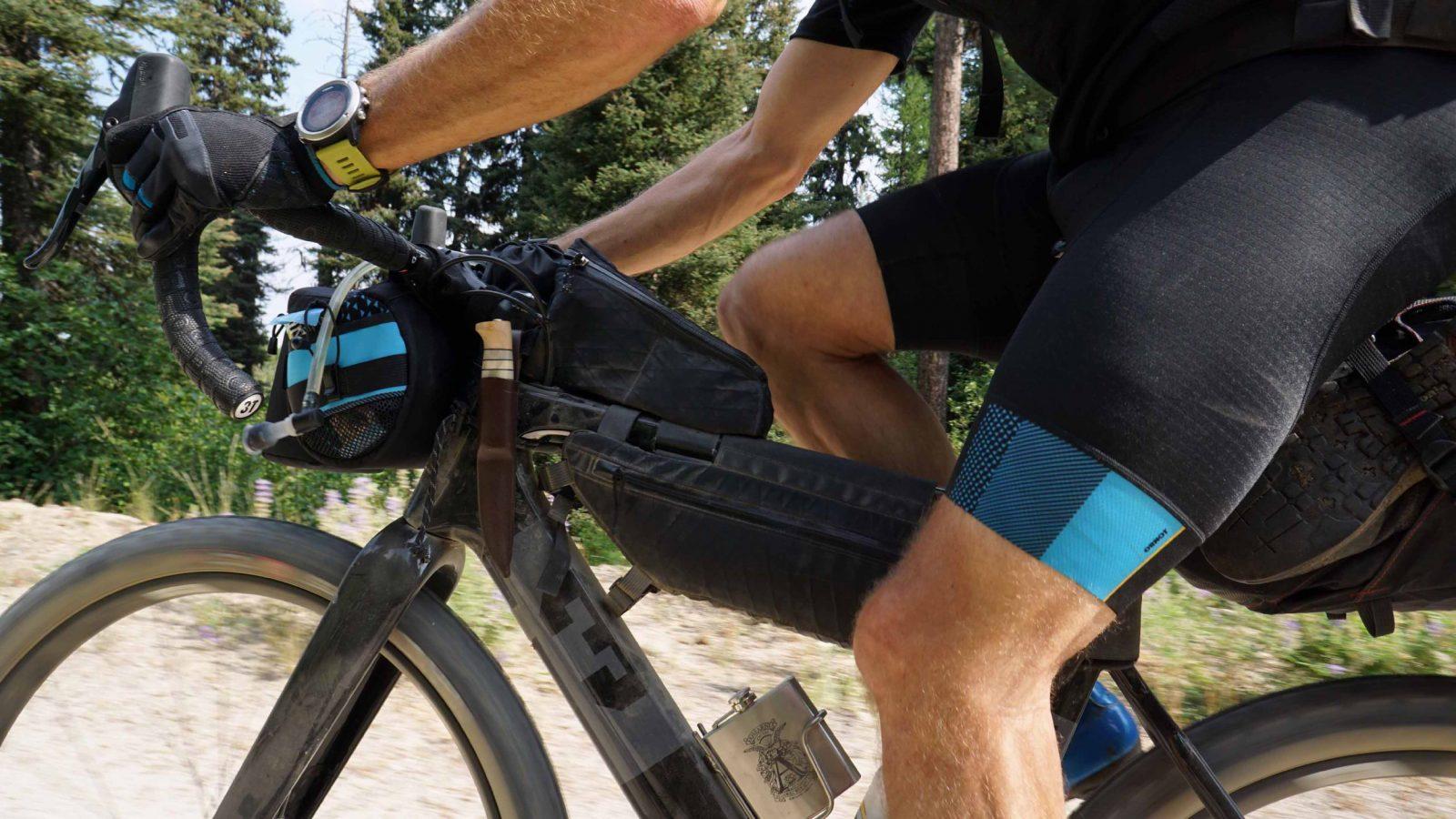 Mens Pro Bike Shorts Cycling Short Bicycle Thin Anti-Chafe Pad