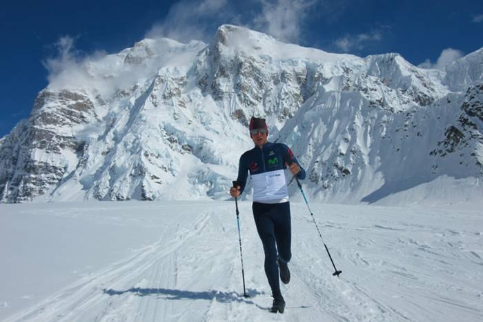 Karl Egloff on Mount Everest