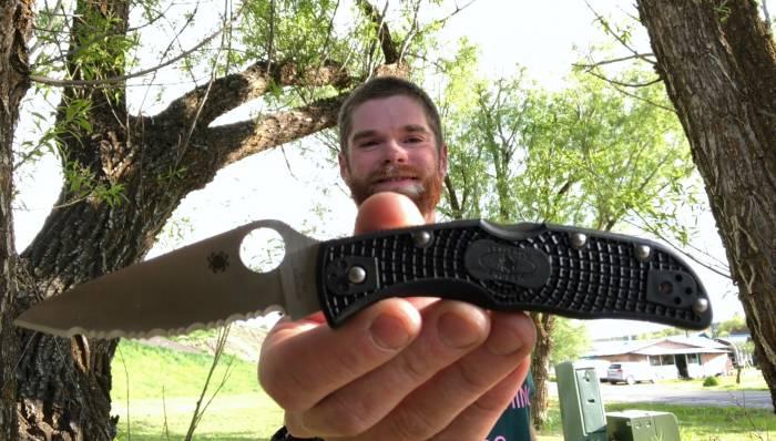 Spyderco Endela knife