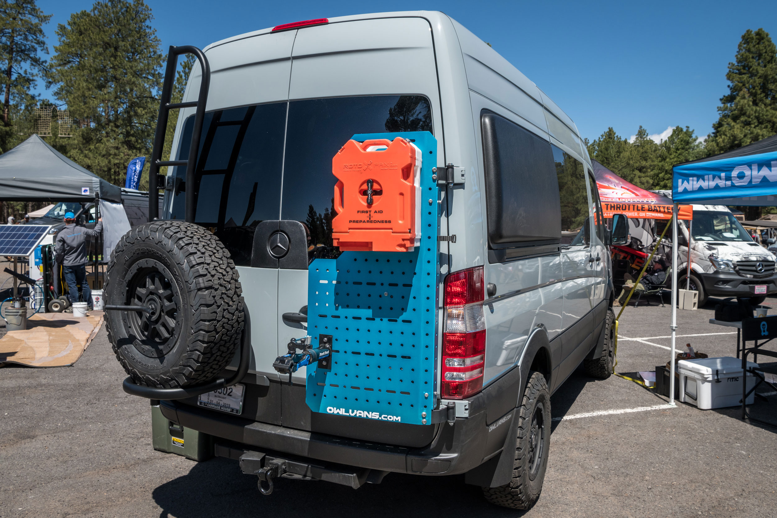 Owl Vans Sherpa Cargo System